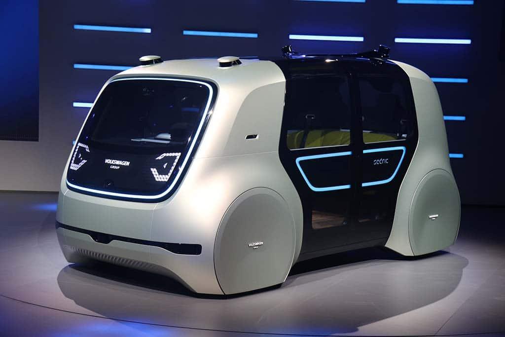 Meet Cedric Volkswagen S Robot Car Thedetroitbureau Com
