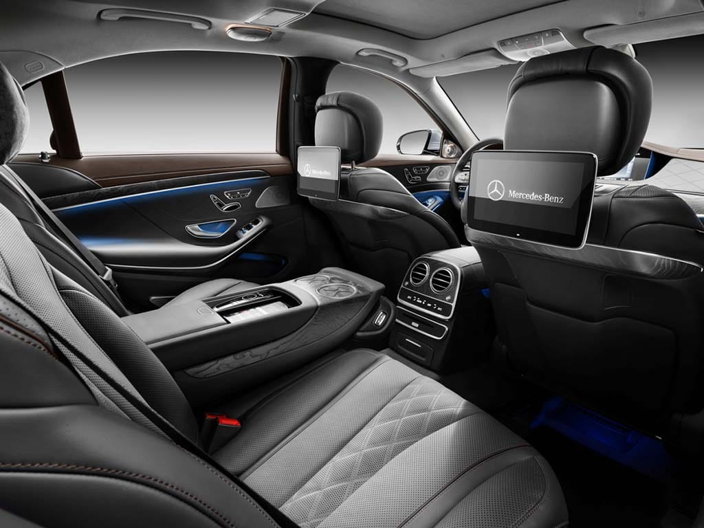 New 2018 mercedes s class adds even more autonomous tech for Mercedes benz maybach interior