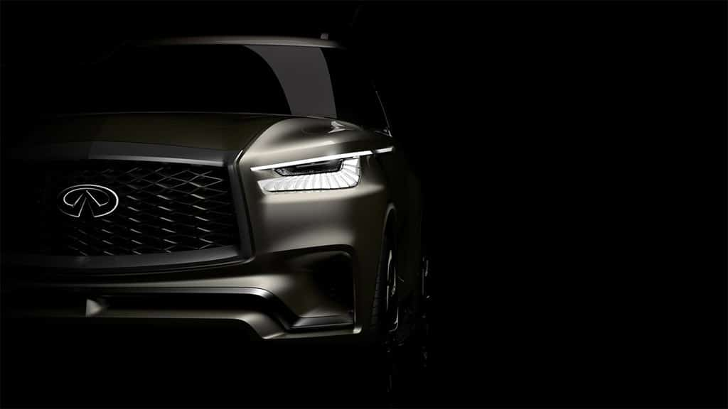 Infiniti Teases Ny Debut Of Qx80 Monograph Concept