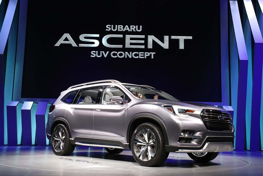 Subaru on the Ascent as it Previews New 3-Row Flagship ...