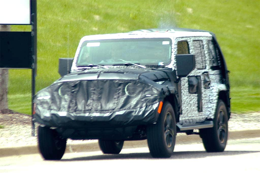 Unwrapping the 2018 Jeep Wrangler   TheDetroitBureau.com