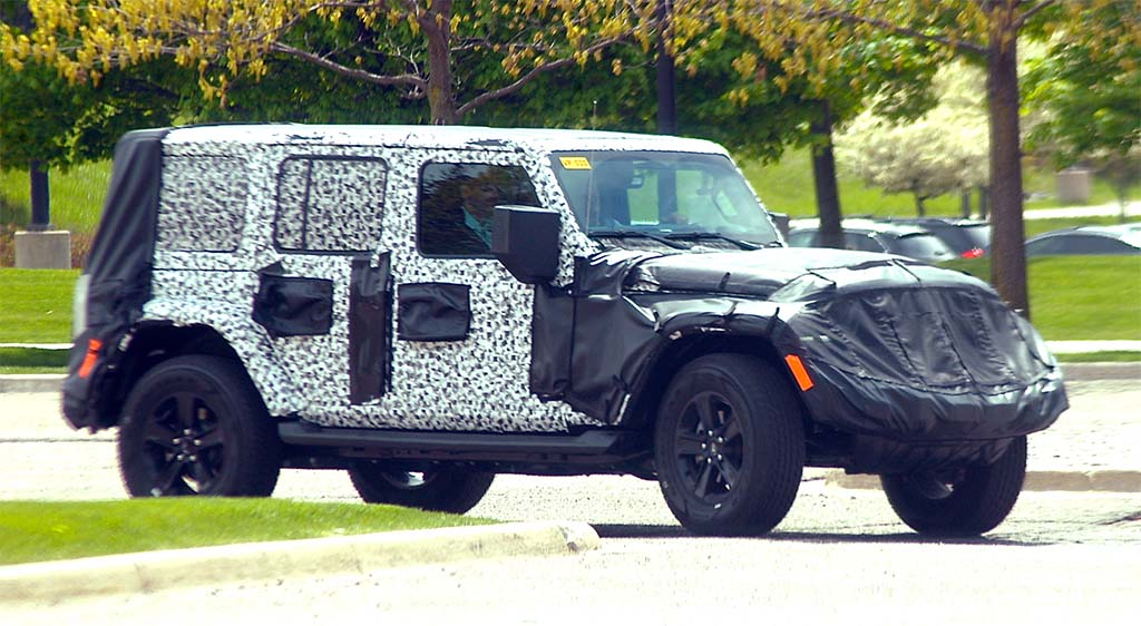 Unwrapping the 2018 Jeep Wrangler