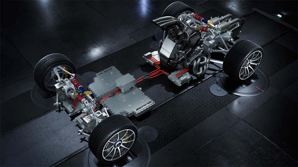 AMG Quite Literally Uncovers New Project One Hypercar