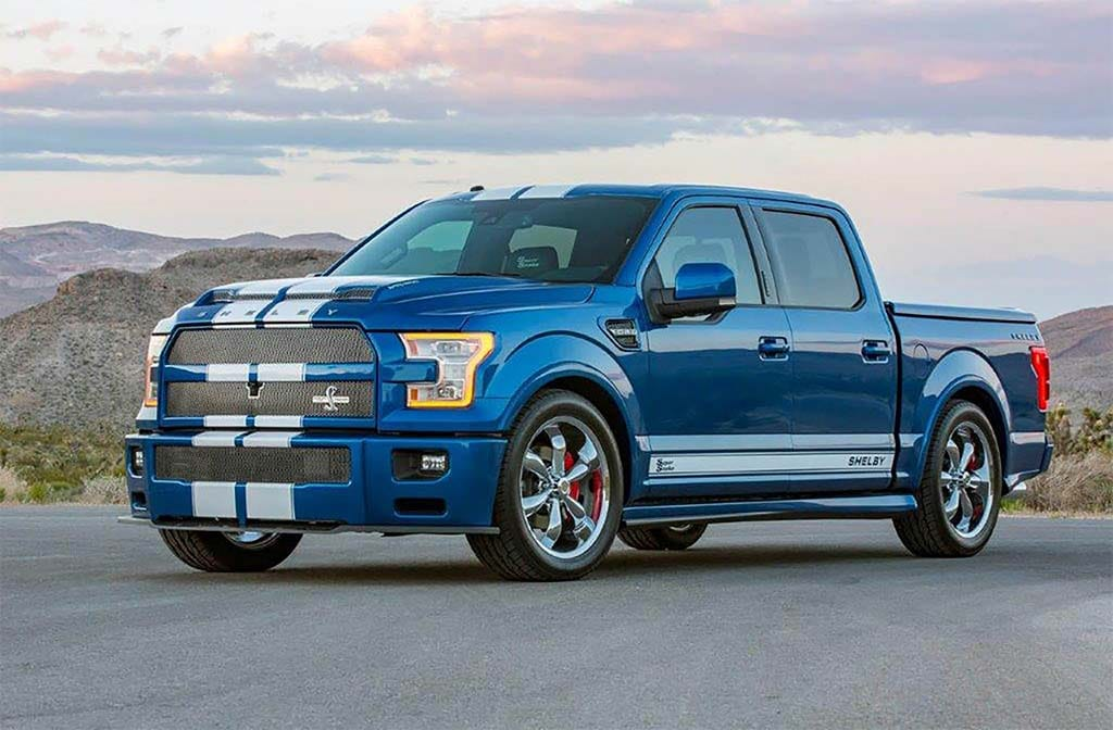 Ford Shelby Truck >> Snakebit: Shelby Unveils Two Super Snake Models | TheDetroitBureau.com