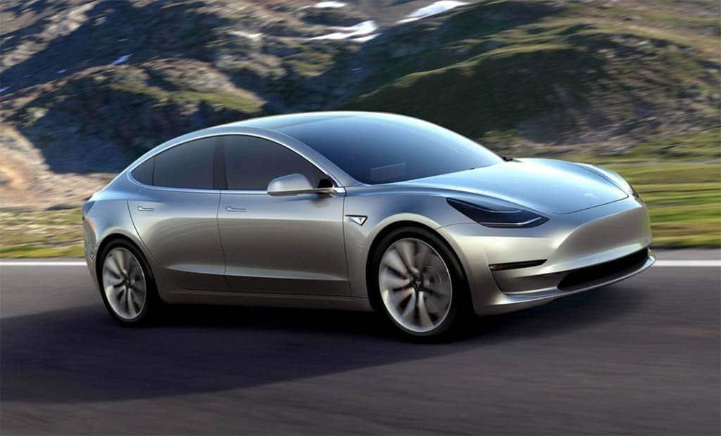 Tesla Model 3 Taking the Slow(er) Road