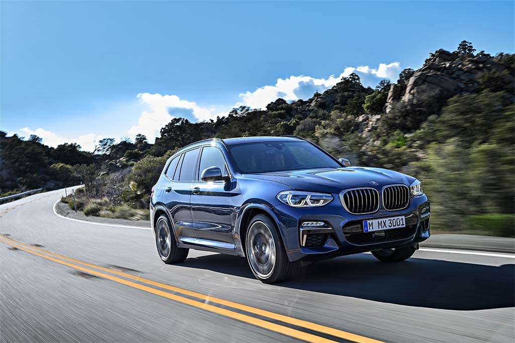 bmw unveils 3rd generation x3 and first ever m edition. Black Bedroom Furniture Sets. Home Design Ideas