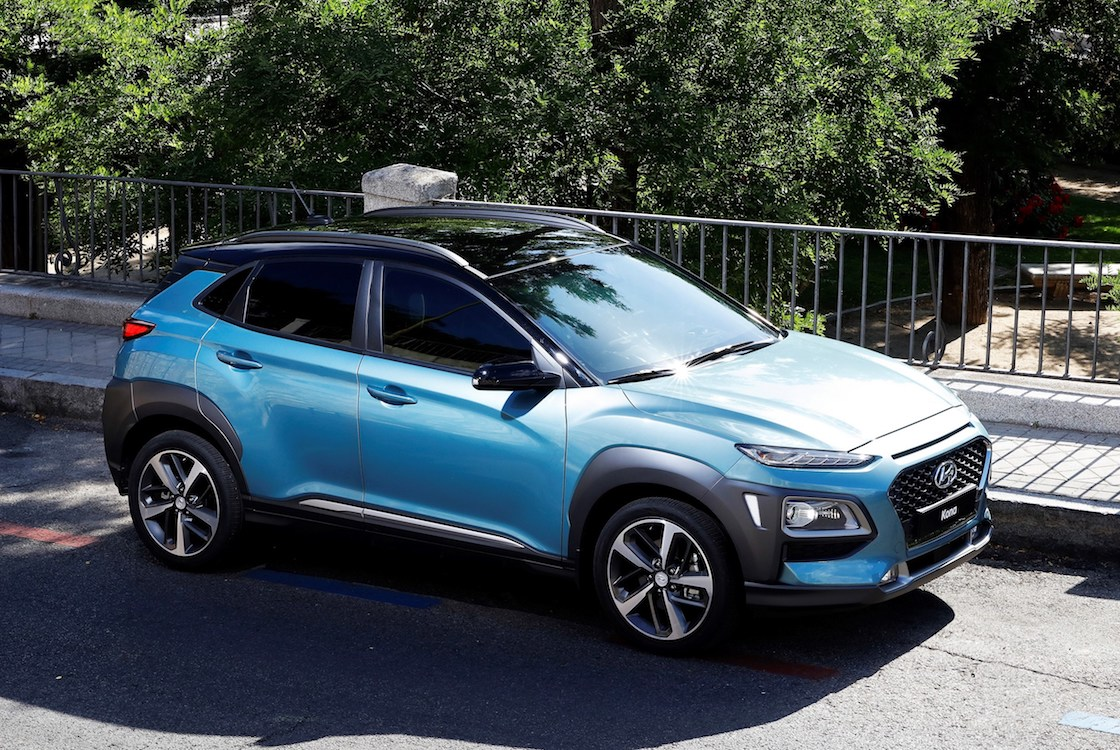 Hyundai Rolls Out Kona First Entry Into Booming Compact