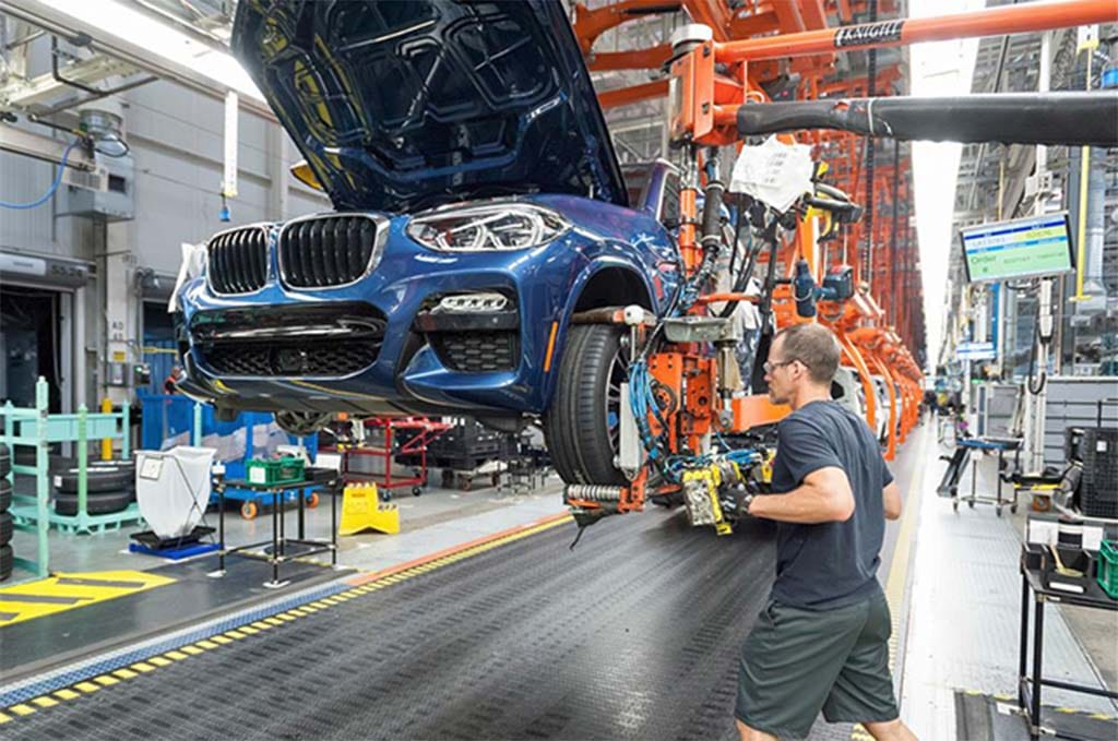 BMW Drops $10M to Double Battery Capacity at SC Plant