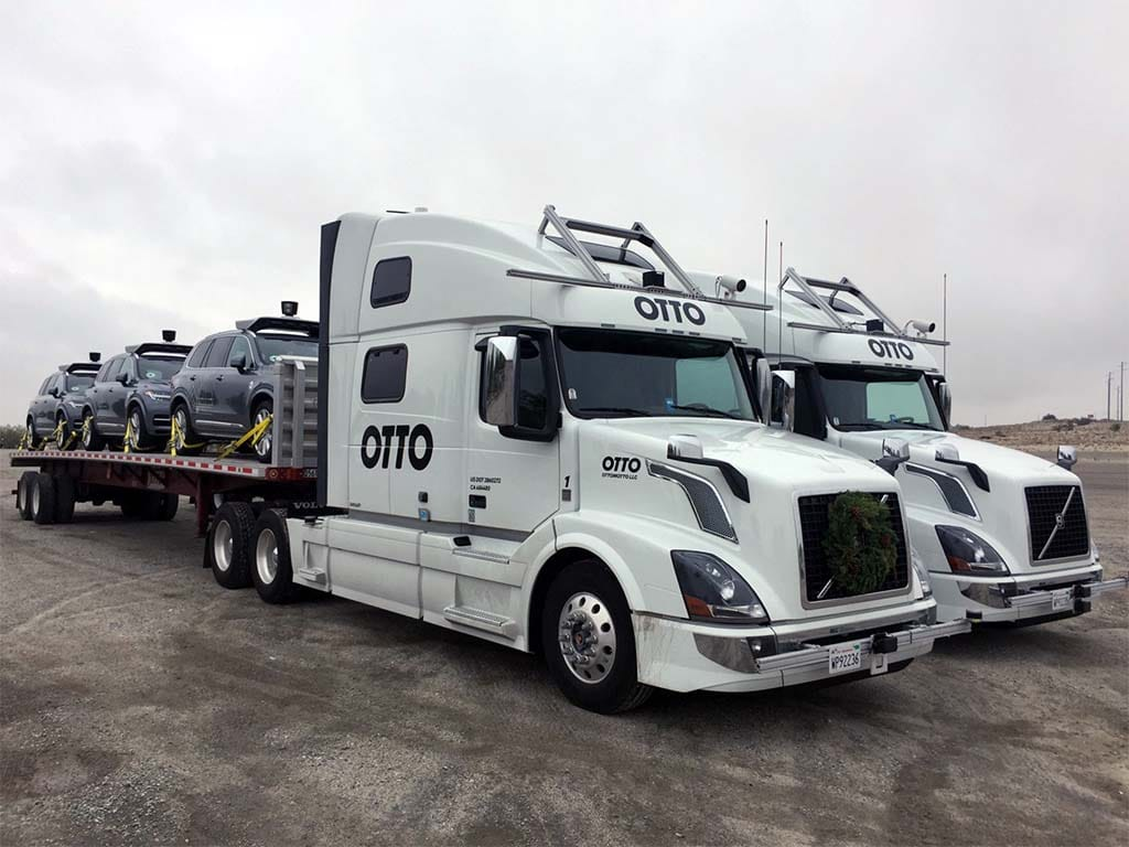 Teamsters Pushing for Role in Shaping Autonomous Truck Laws