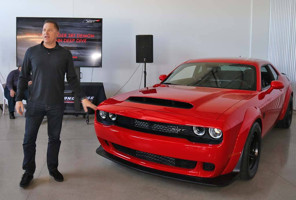 inside story how dodge got the demon up to a hellacious 840 hp. Black Bedroom Furniture Sets. Home Design Ideas