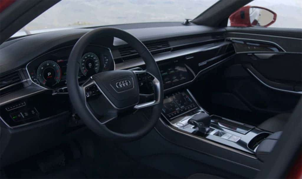 2018 audi a8 interior. unique audi a more refined interior  throughout 2018 audi a8 o