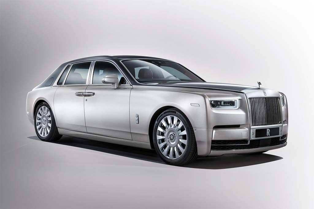New 8th-Gen Rolls-Royce Phantom Fit for an Oligarch