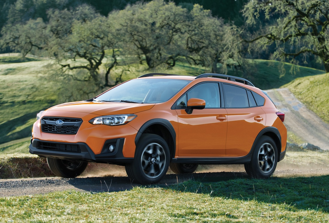 2018 subaru crosstrek review first impressions. Black Bedroom Furniture Sets. Home Design Ideas