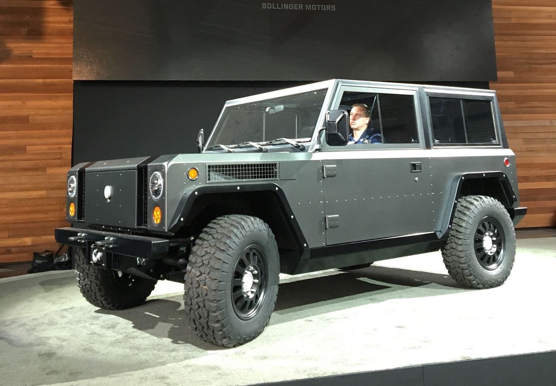 Bollinger Unveils EV Truck Prototype