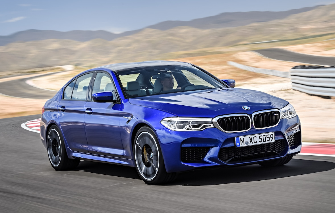 Get A Load Of The New BMW M5 In These Leaked Images