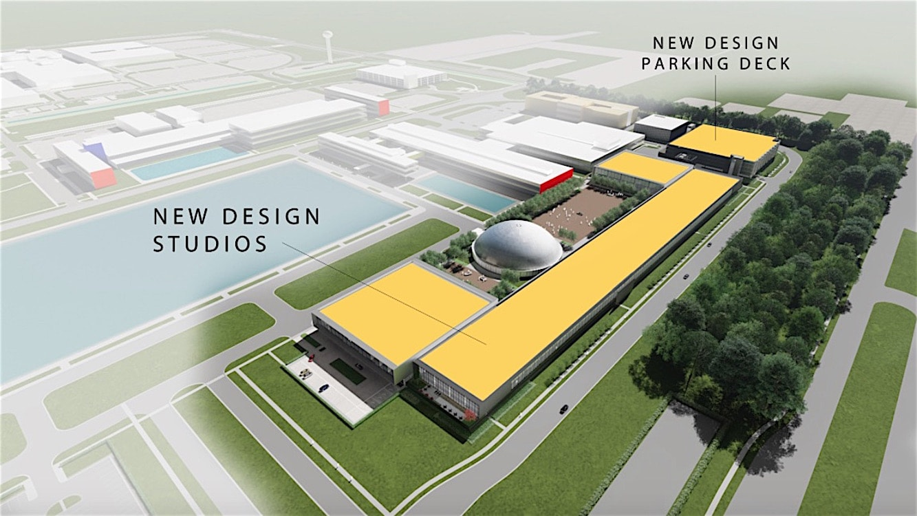 General Motors Expanding U S Design Center