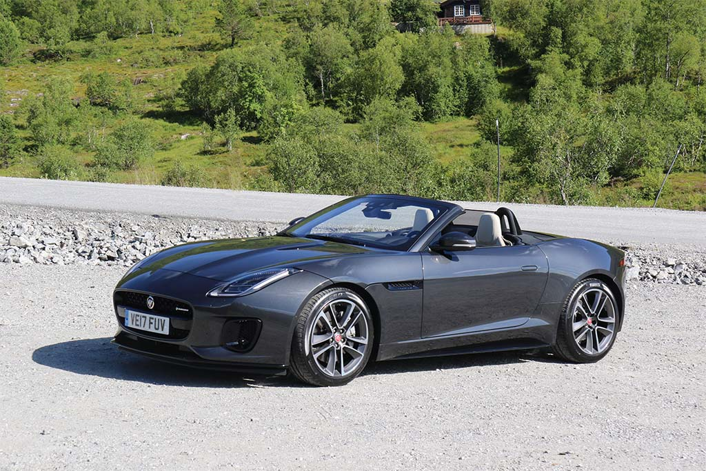 First Drive Jaguar F Type 4 Cylinder