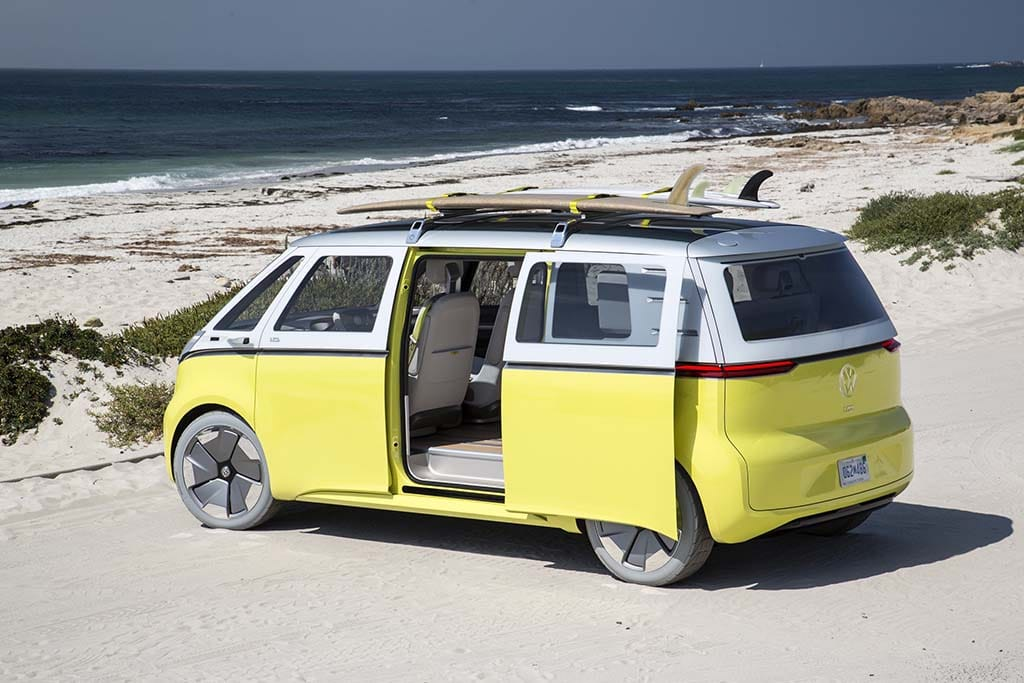 hippies rejoice vw putting i d buzz electric microbus into production. Black Bedroom Furniture Sets. Home Design Ideas