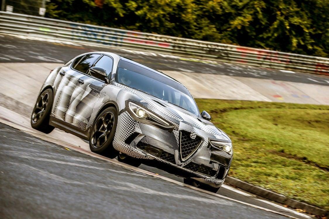 Alfa Romeo Claims Stelvio Quadrifoglio Fastest Sport-Ute