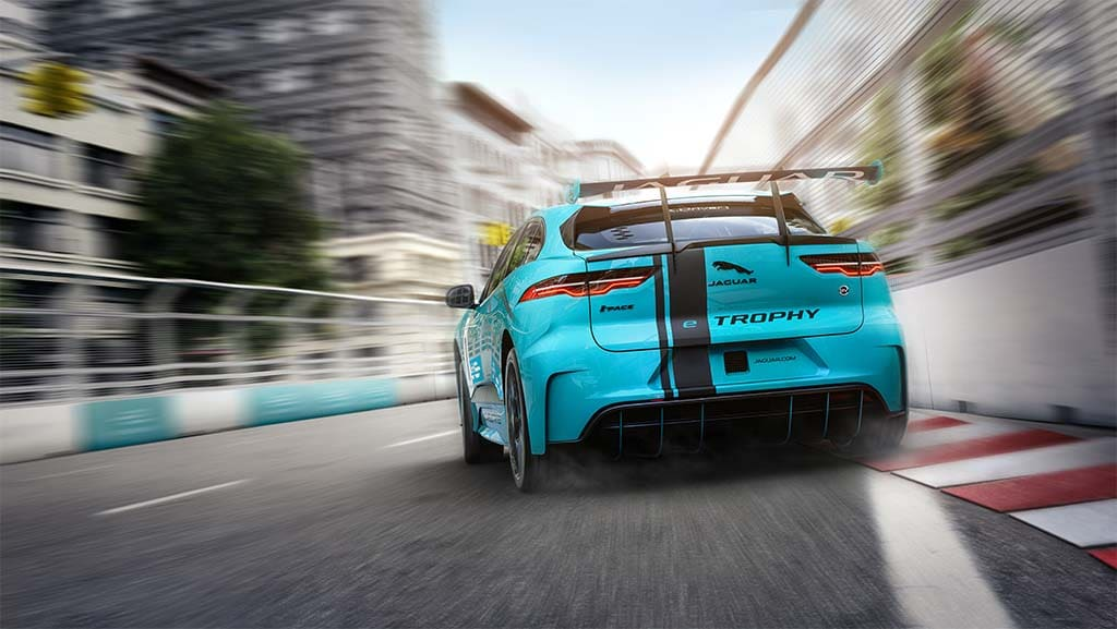 Jaguar is sponsoring the world's first production battery-electric vehicle race series