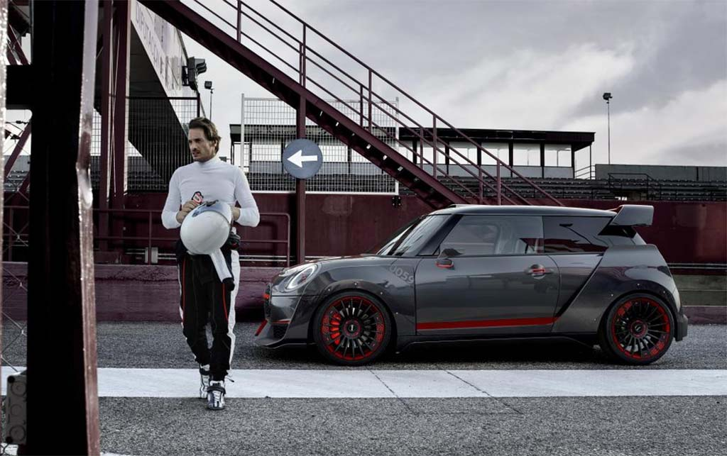 MINI John Cooper Works GP Concept - hardcore hatch
