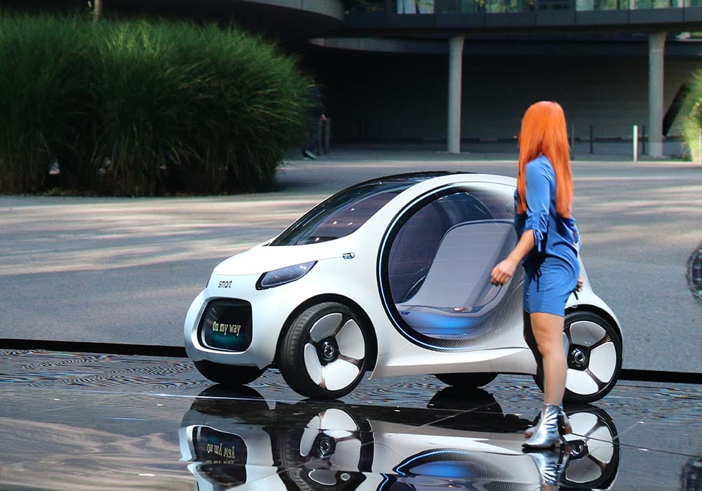 Smart Vision Eq Concept Foresees Future As An All Electric
