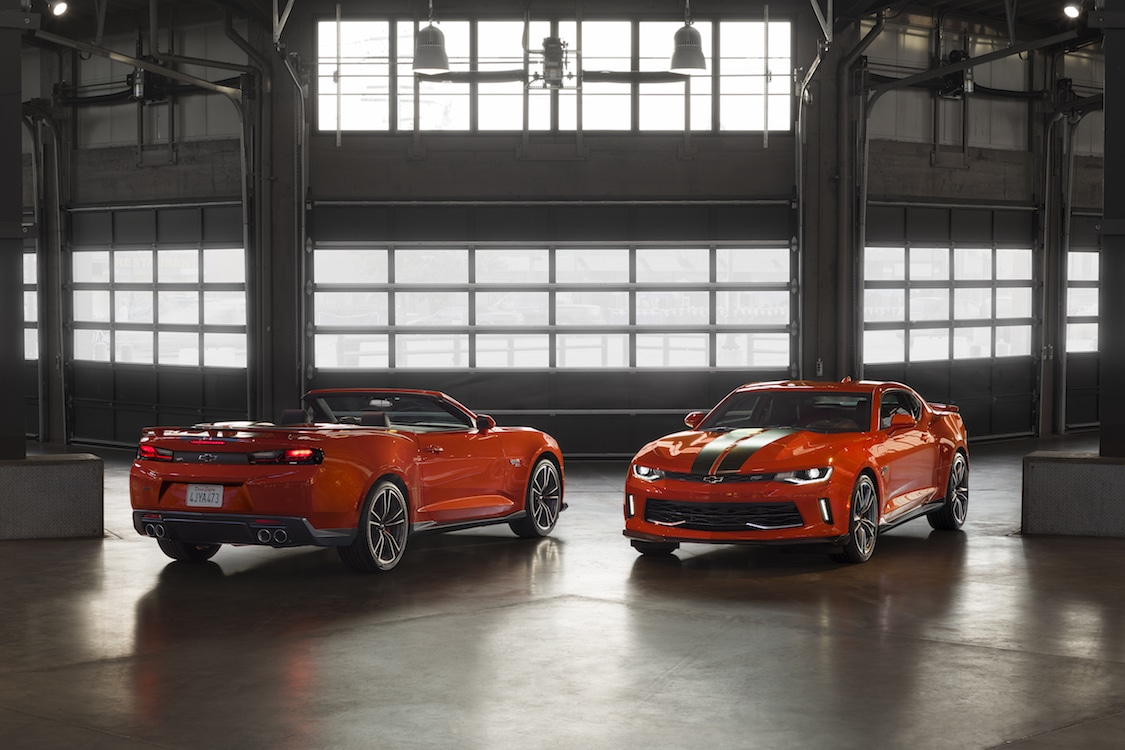 Chevy, Hot Wheels Team Up for 50th Anniversary Camaro