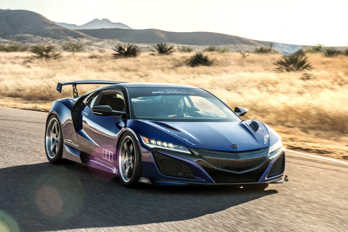 Acura Roars into SEMA Show with NSX Racers