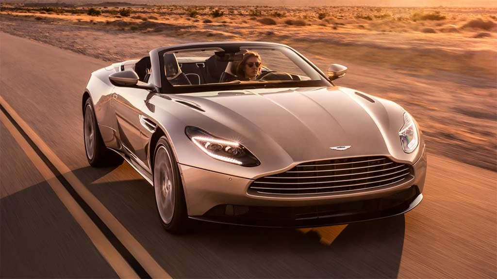 Aston Martin Recalls Entire Run of New DB11 Sports Coupes