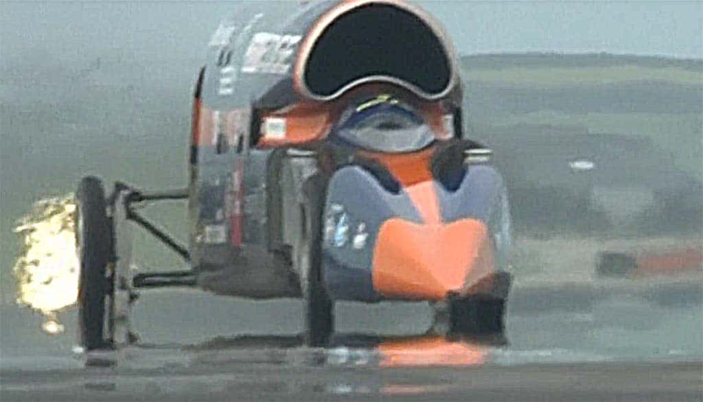 Bloodhound Sniffs Victory as it Preps for 1,000 MPH Run