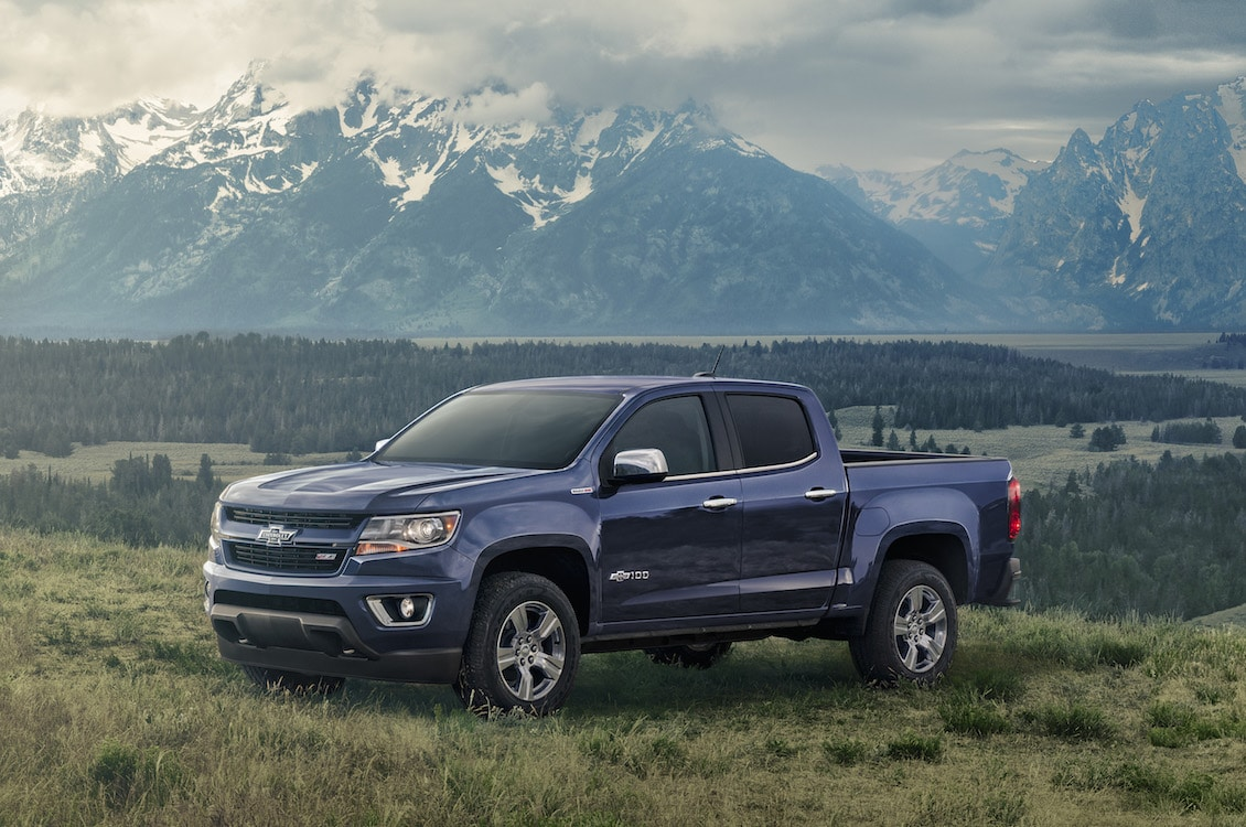 Chevy Unveils Two Special Edition Colorados to Mark Truck ...