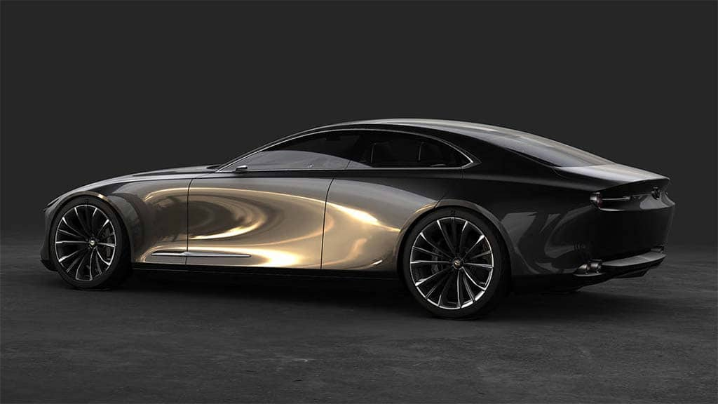 mazda focuses on future with vision coupe and kai concept