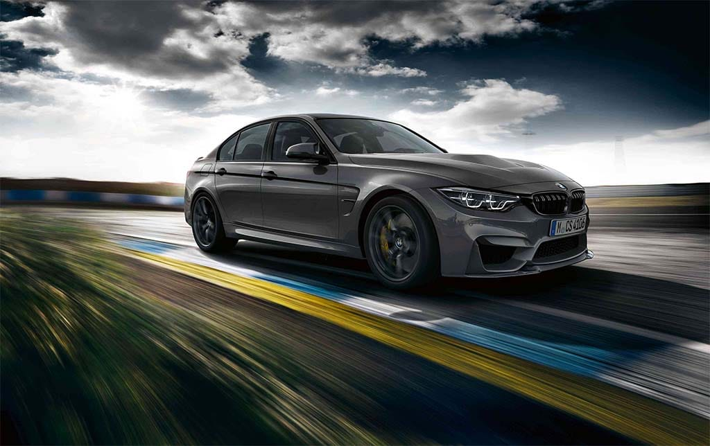 First Ever BMW M3 CS is Lighter, Quicker, and Faster