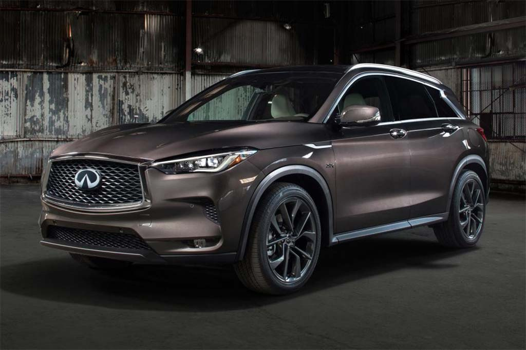 2019 Infiniti QX50 Introduces World's First Variable-Compression Engine