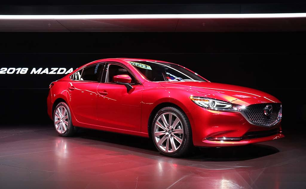 Mazda 6 gets minor cosmetic surgery and a new intelligent turbo engine