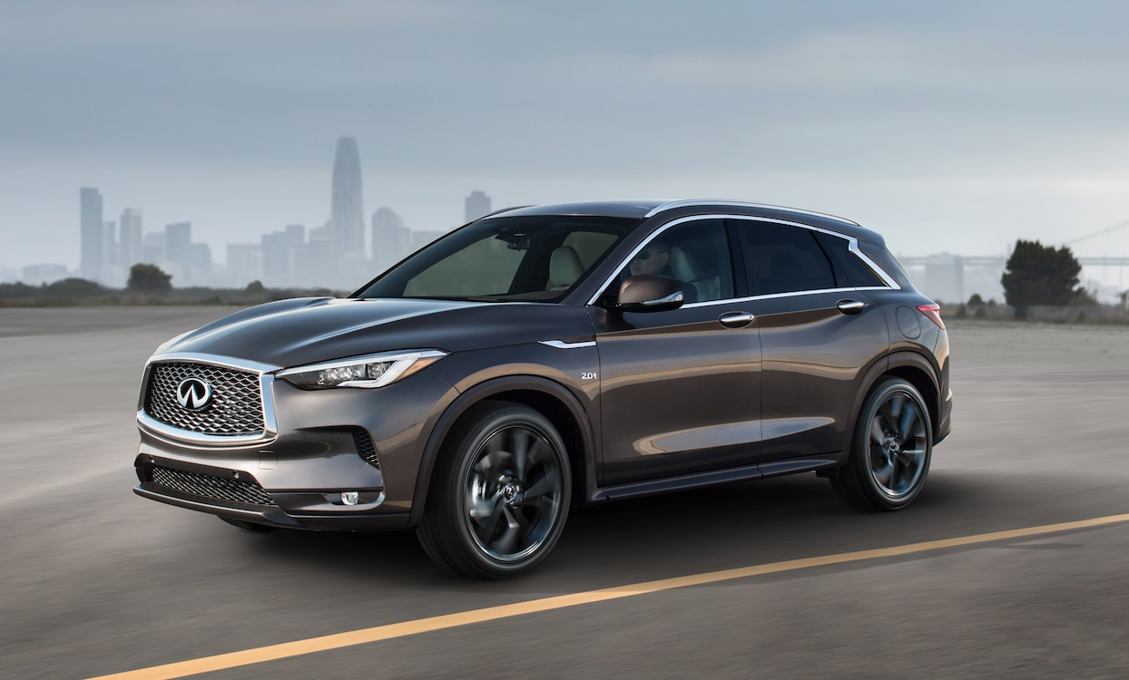 Infiniti QX50's revolutionary new VC Turbo engine