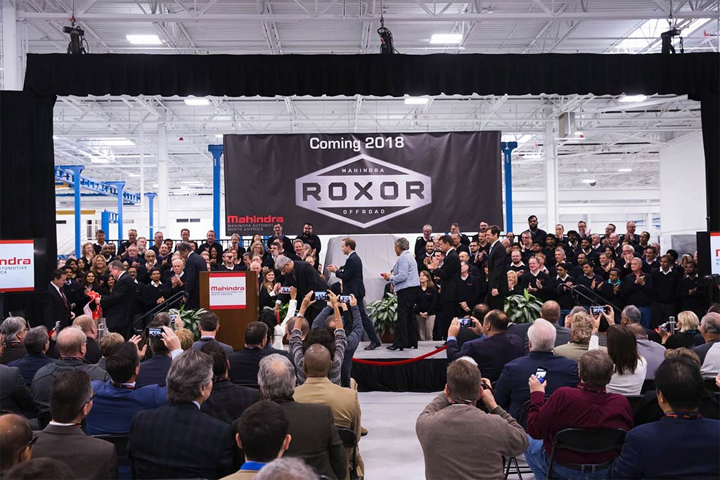 India's top SUV maker to open auto plant in Michigan