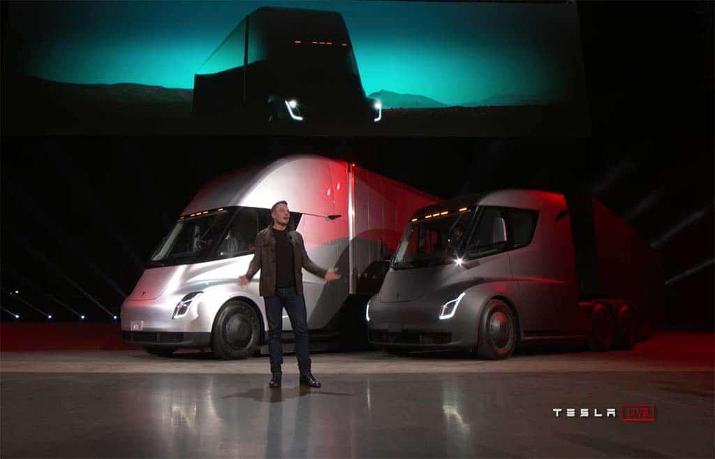 Tesla Stock Soars Past $1K as Musk Talks Moving Up Semi Production