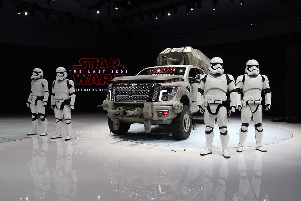 Nissan Rolls Out Seven Star Wars-Themed Vehicles at L.A. Auto Show