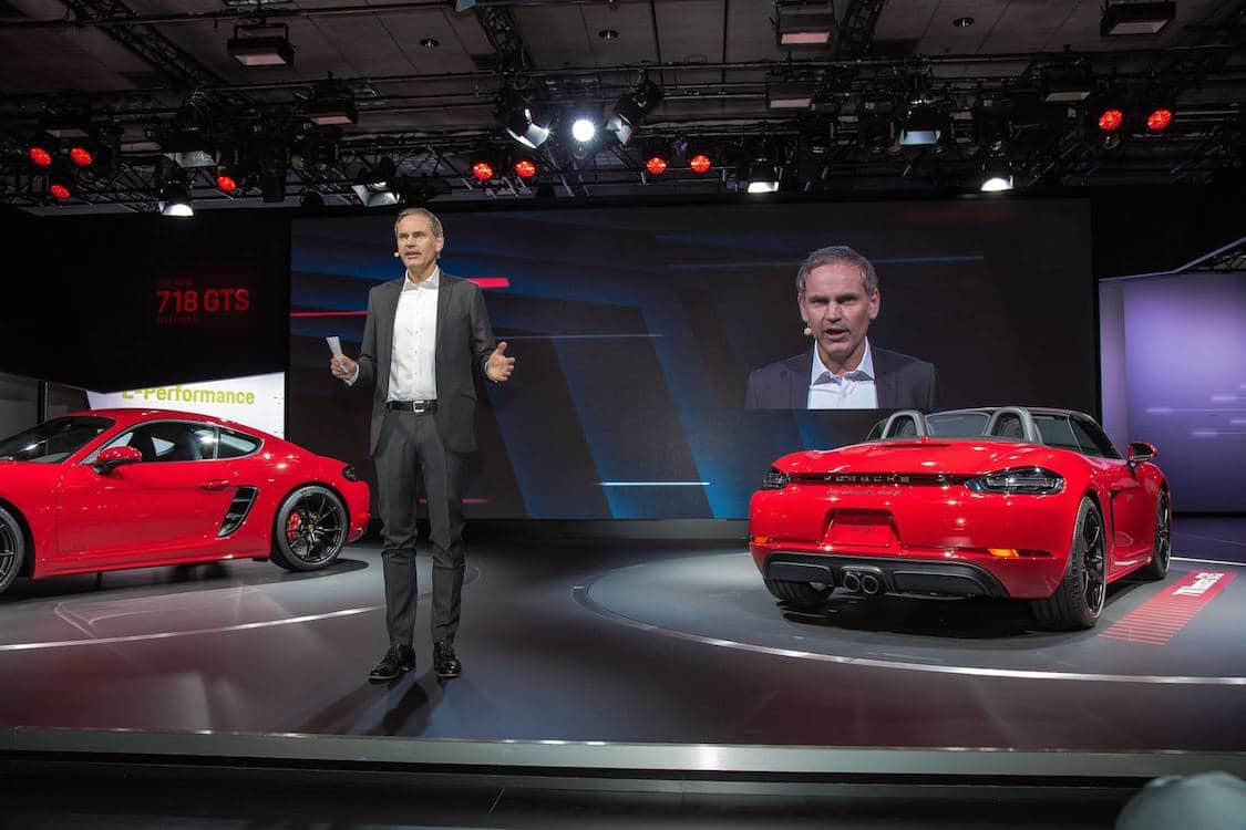 Porsche Rolls Out Not One, But Four New Models