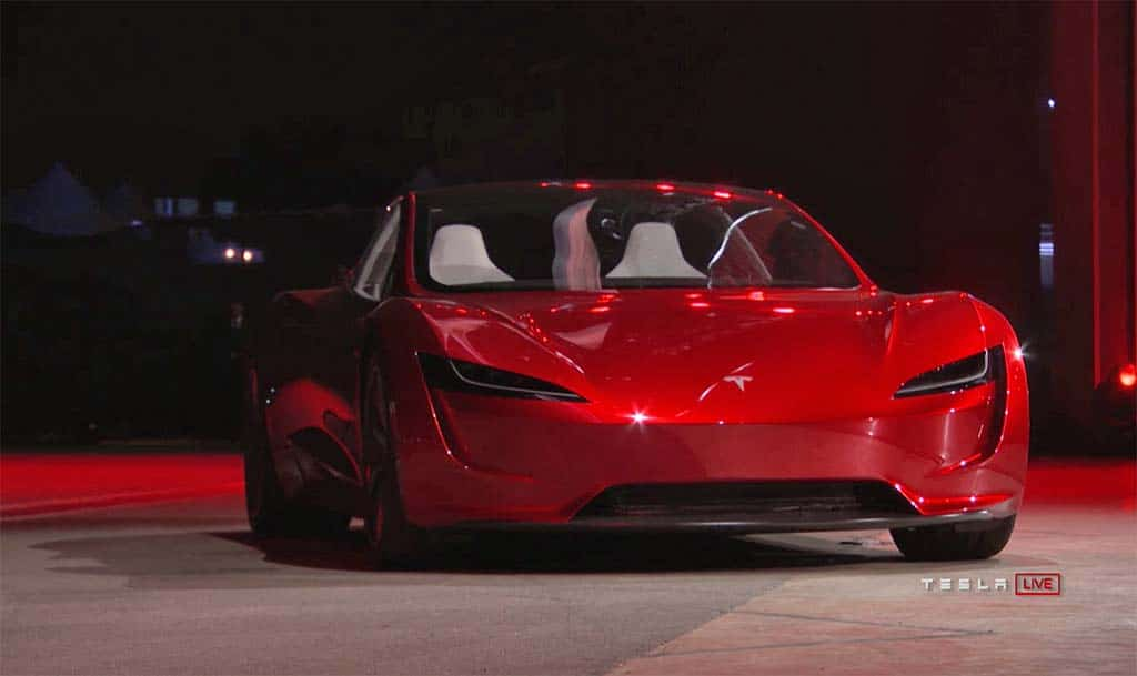 musk promises new tesla roadster will be world s fastest production car period. Black Bedroom Furniture Sets. Home Design Ideas