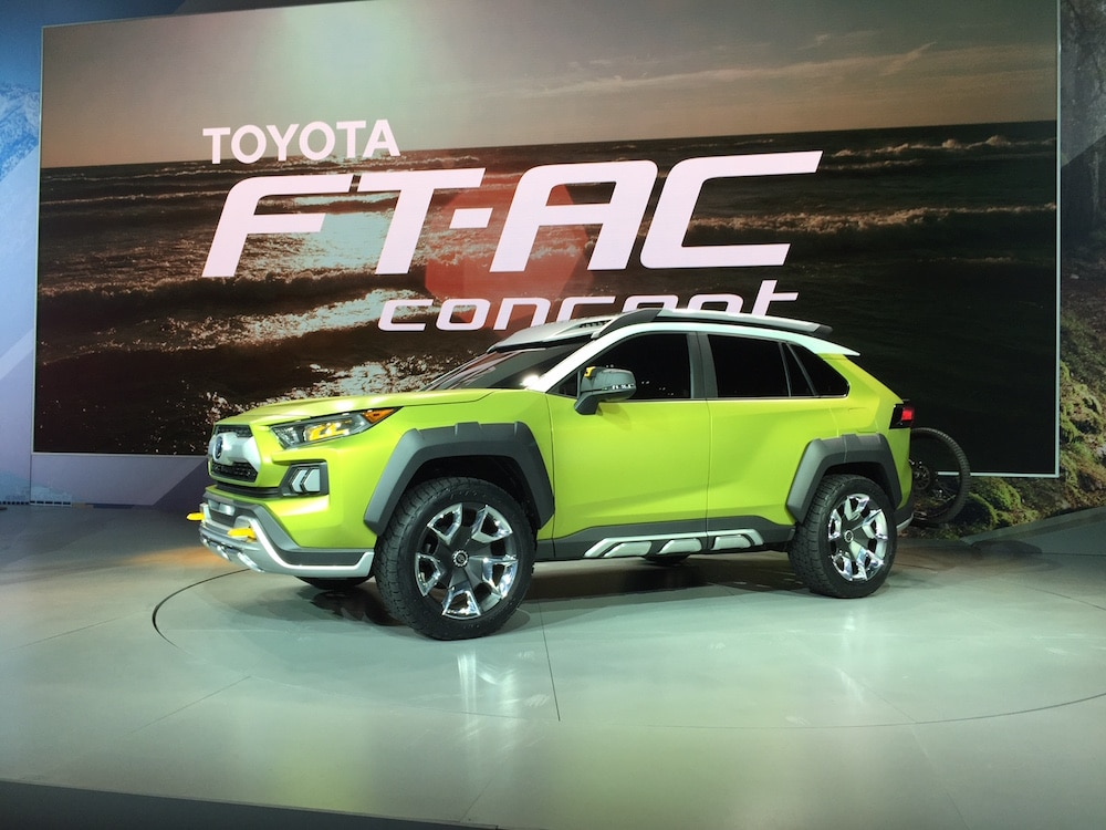 """Future Toyota Adventure Concept"" Hints of New Off-Roader to Come"