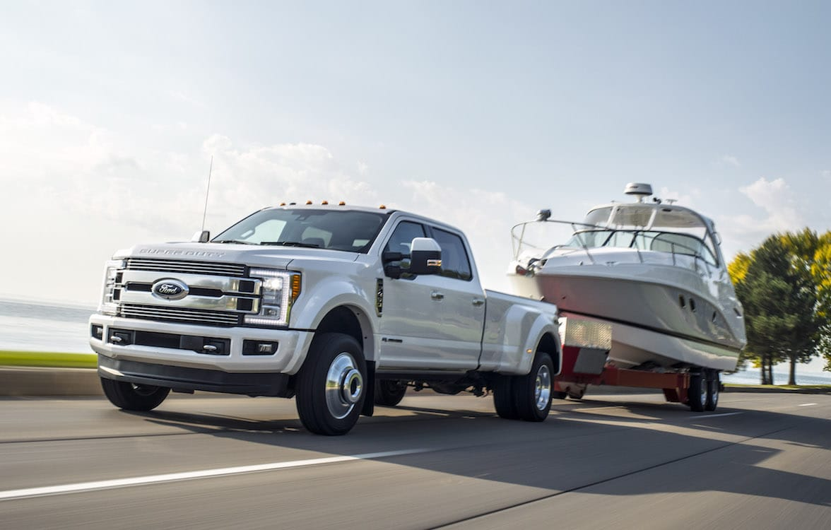 Ford Recalling Nearly 550K Super Duty Trucks