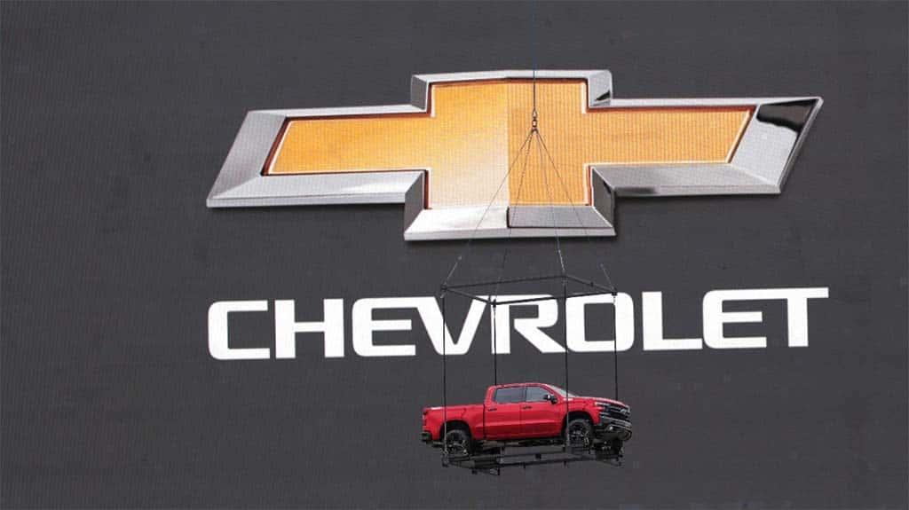 Chevrolet Silverado 1500 Breaks Cover In Texas