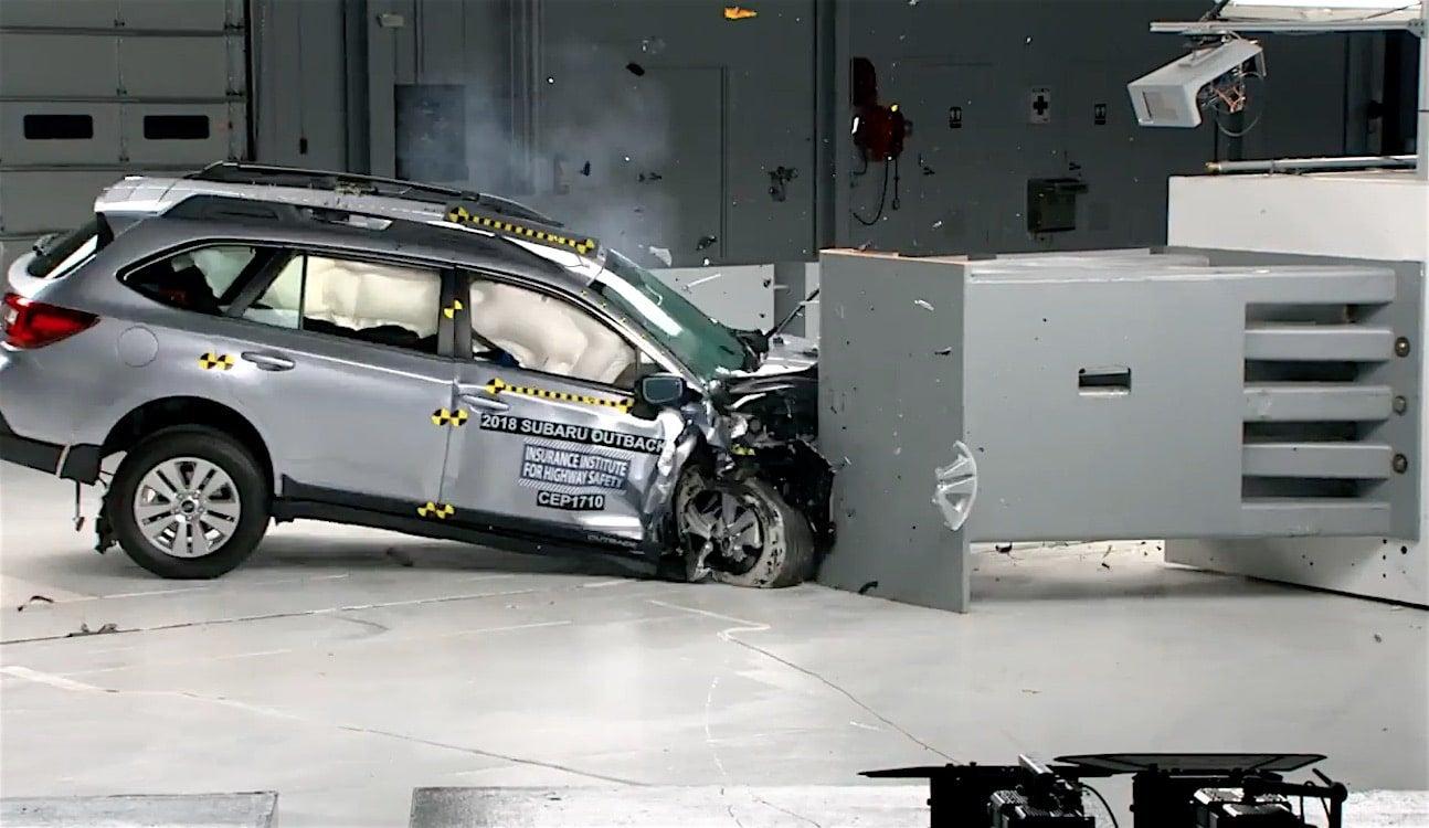 Subaru had four vehicles earn the IIHS