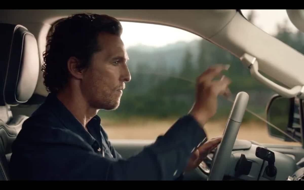 McConaughey Hyping New Lincoln Navigator