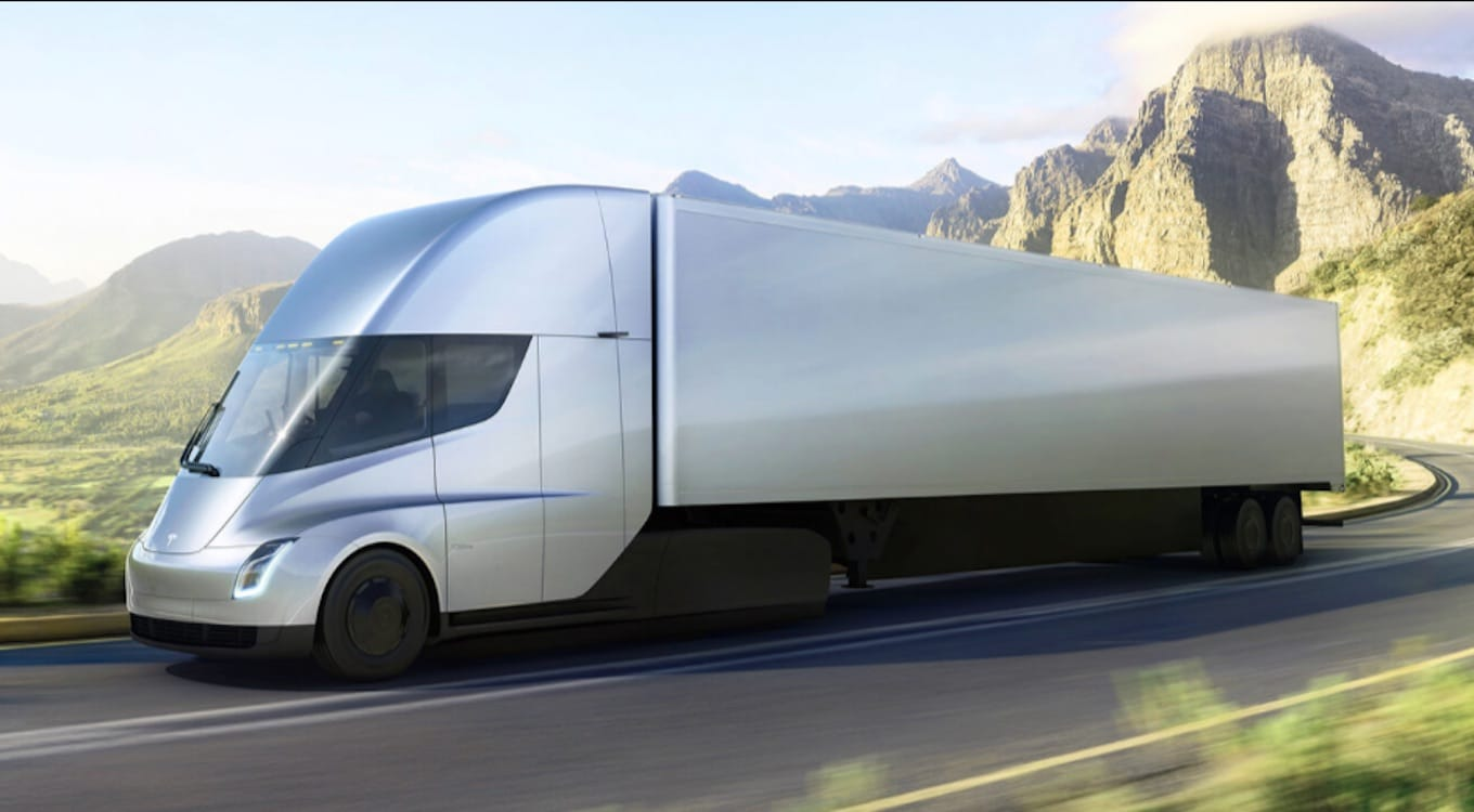 UPS Orders 125 Tesla Semi-Trucks