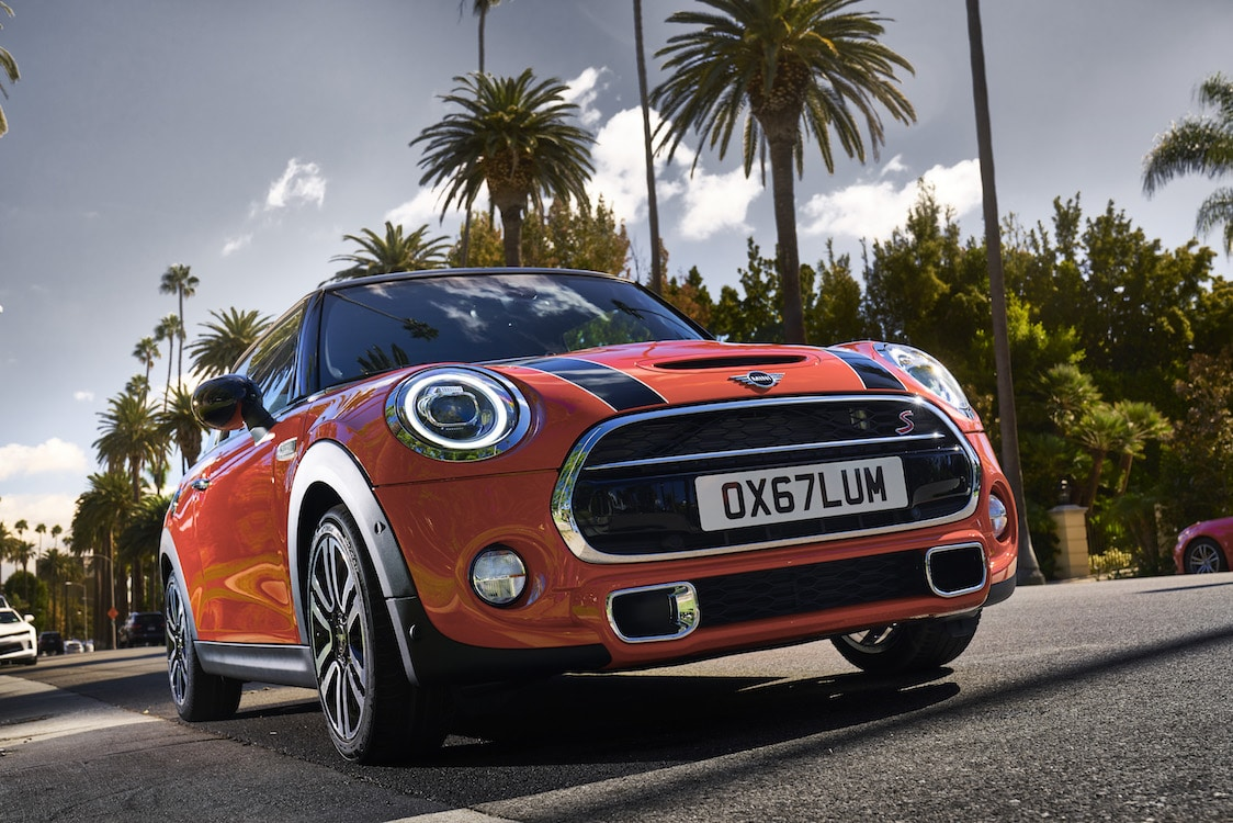 The the new year Mini gave its original two-door and four-door model as well as the convertible a freshening