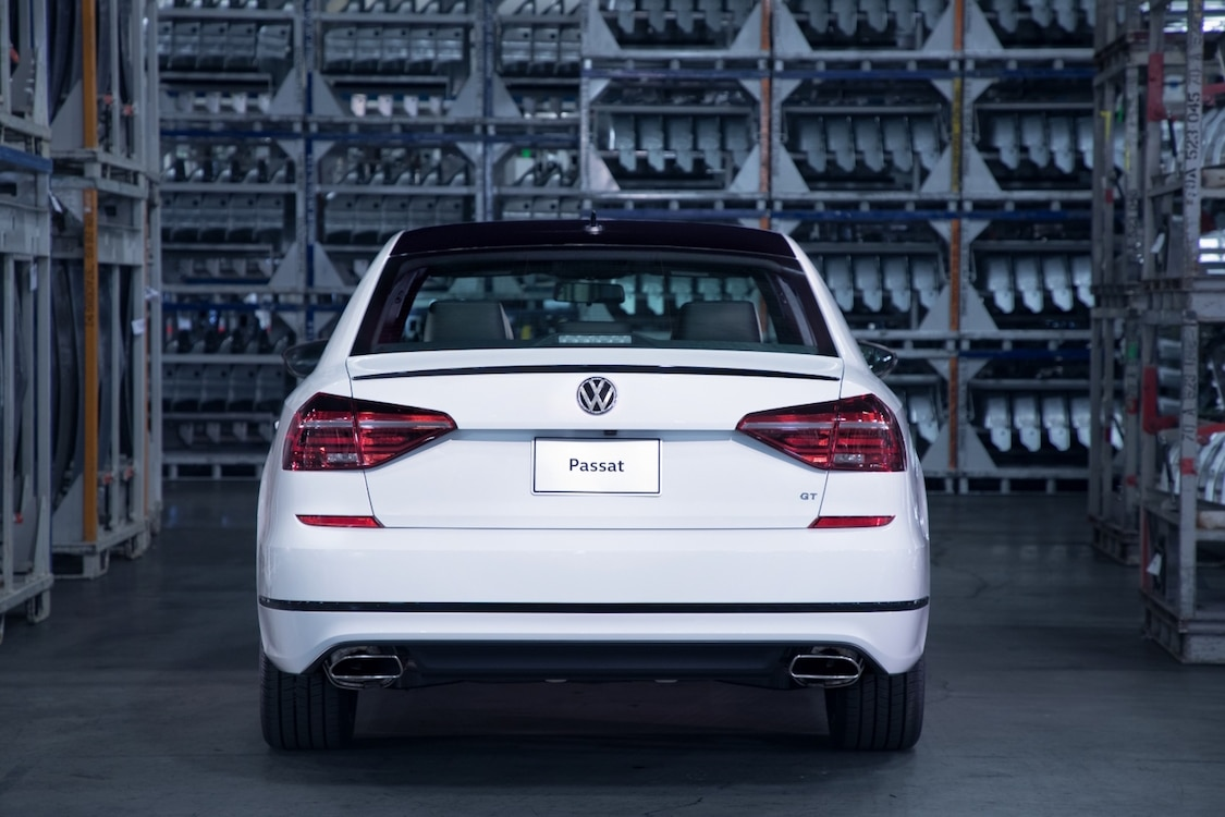 The 2018 VW Passat GT uses a sport suspension to improve performance from the 280 horsepower WR6 engine