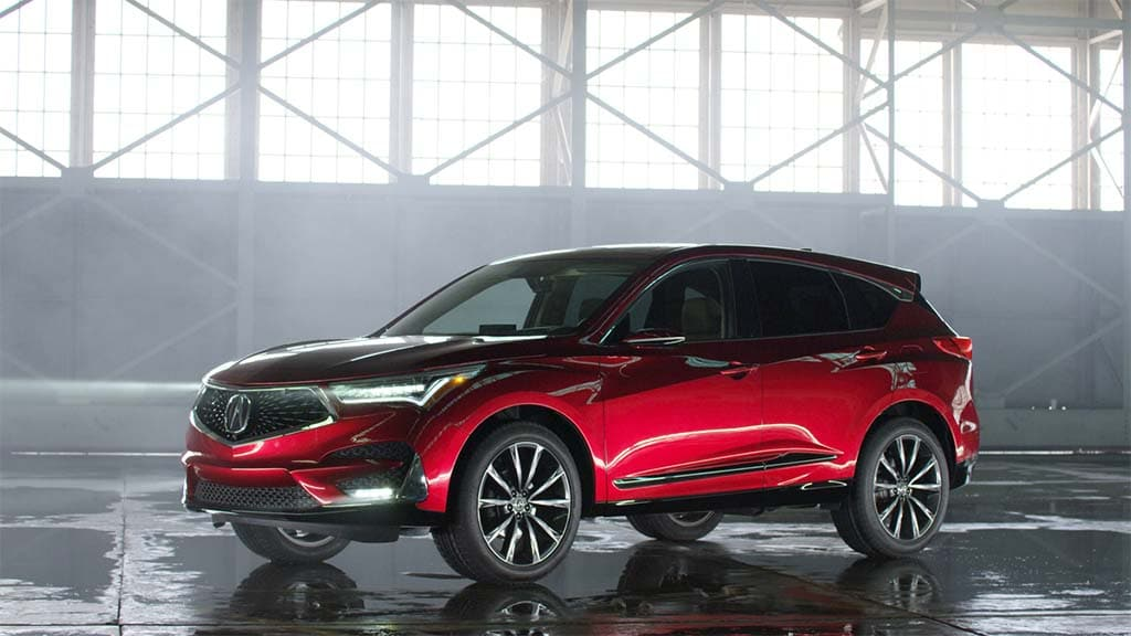 acura rdx prototype debuts with a 2 0l turbo. Black Bedroom Furniture Sets. Home Design Ideas